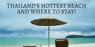 Thailand's Hottest Beach and Where to Stay!