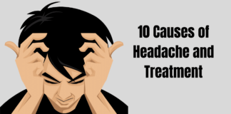 10 Causes of Headache and Treatment