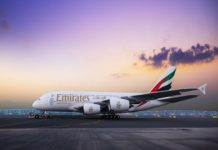 emirates airlines flying a380